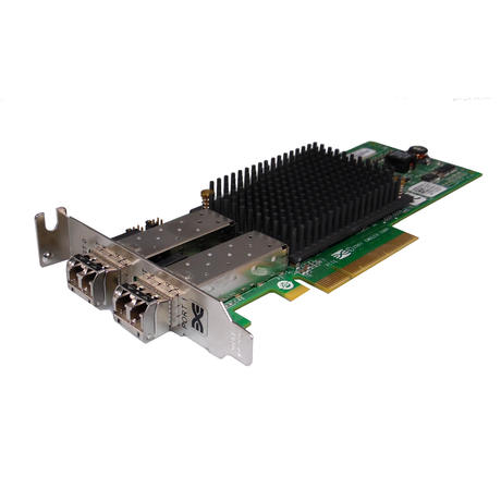 Dell X803K PCIe x8 HBA 2-Port 8GB Fibre Channel Host Adapter | Emulex LPE12002  Thumbnail 1